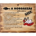 FATÁBLA 'A HORGÁSZÁS JOBB MINT'