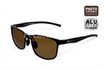 Fotokromatikus napszemüveg Delphin SG BLACK barna lencsével