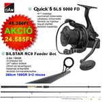 DAM QUICK 5 SLS 5000 FD + RC9 FEEDER 150G 3,6M 3+2