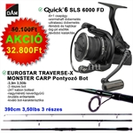 Quick 6 SLS 6000 FD+TRAVERSE-X MONSTER CARP 390