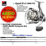 Quick 6 LC 6000 FD+YOKOZUNA CARP-WARS 3LBS