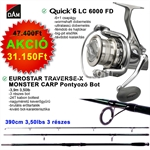 Quick 6 LC 6000 FD+TRAVERSE-X MONSTER CARP 3,9