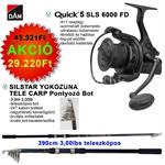 Quick 5 SLS 6000 FD+YOKOZUNA TELE CARP 3,9M 3LB