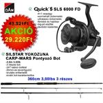 Quick 5 SLS 6000 FD+SILSTAR CARP-WARS 3LBS