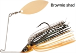 RAPTURE SHARP SPIN SINGLE WILLOW 10 g BROWNIE SHAD